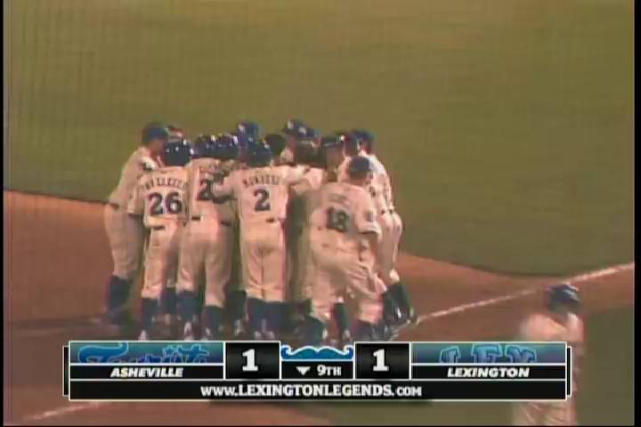 Video Highlights & Clips - MiLB | Legends' Starling delivers walk-off - Video | Lexington Legends Multimedia