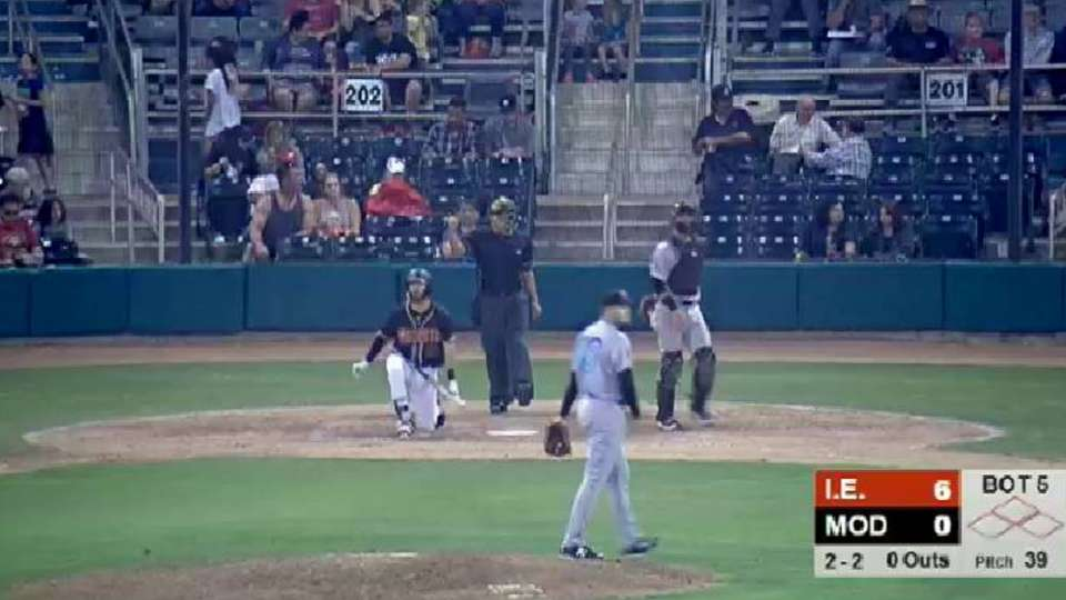 Gatto picks up fifth strikeout | Bees